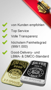 MG-Edelmetalle.com   Edelmetalle GOLD & SILBER der besonderen Art!