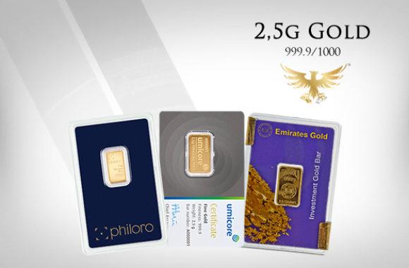 MG-Edelmetalle.com | 2,5g Gold