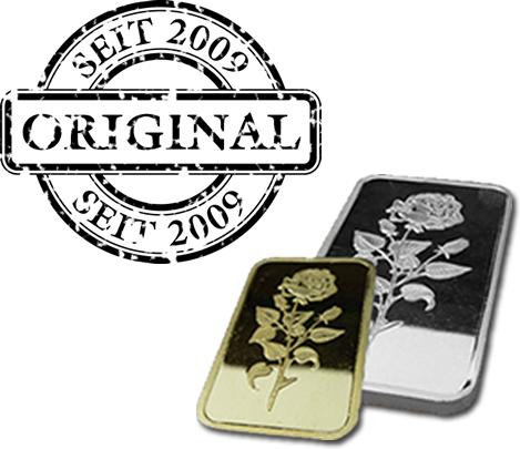 MG-Edelmetalle.com | Einmalbestellung GOLD & SILBER
