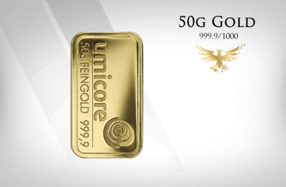 MG-Edelmetalle.com | 50g Gold