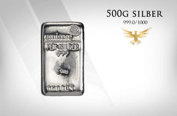 MG-Edelmetalle.com | 500g Silber